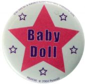Baby Doll - Slogan Button Badge
